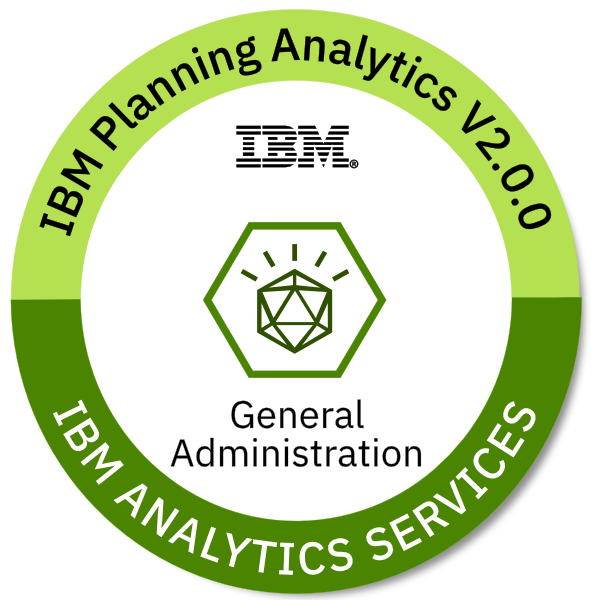 IBM Planning Analytics V2.0.0 General Administration