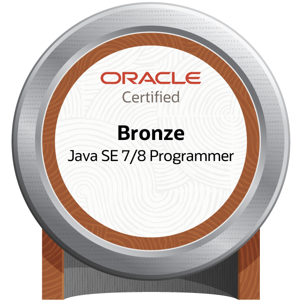 Oracle Certified Java Programmer, Bronze SE 7/8 - JPN