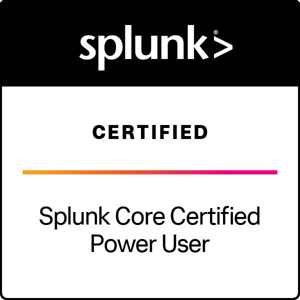 Splunk Core Certified Power User