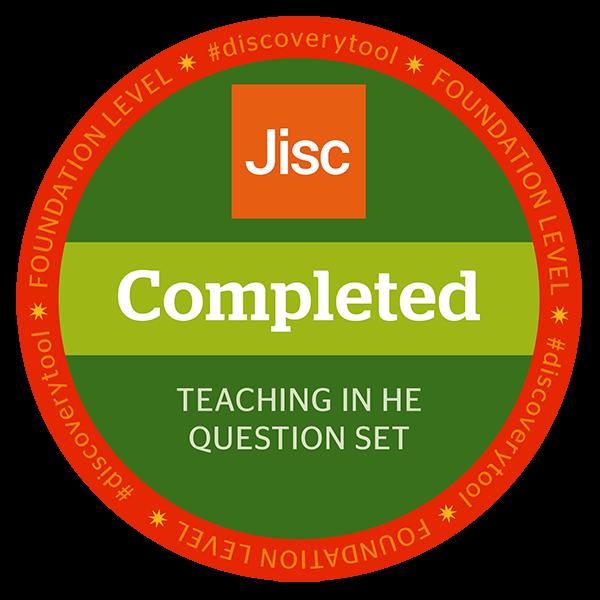 Jisc discovery tool - Teaching in HE