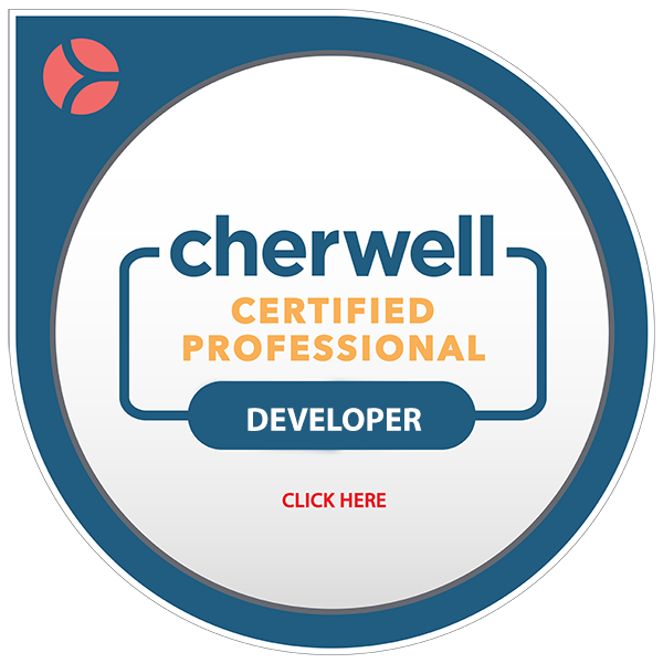 Cherwell Certified Professional Developer