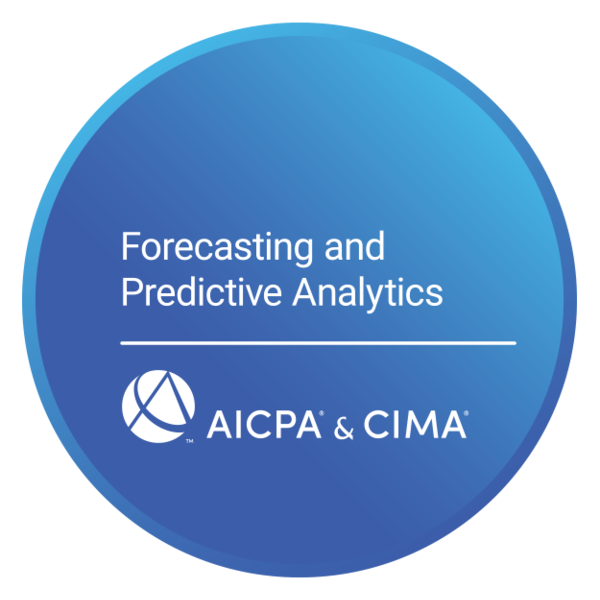 Forecasting and Predictive Analytics Certificate