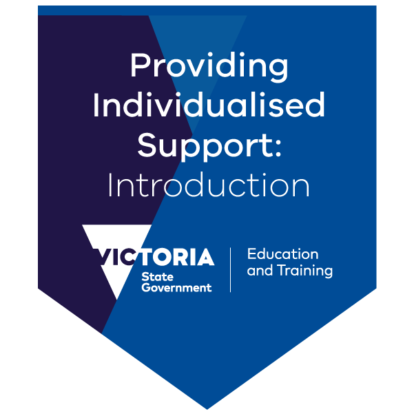 Introduction to providing individualised support