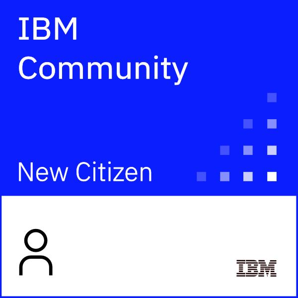IBM Community New Citizen