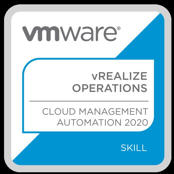 VMware vRealize Operations - Cloud Management Automation 2020