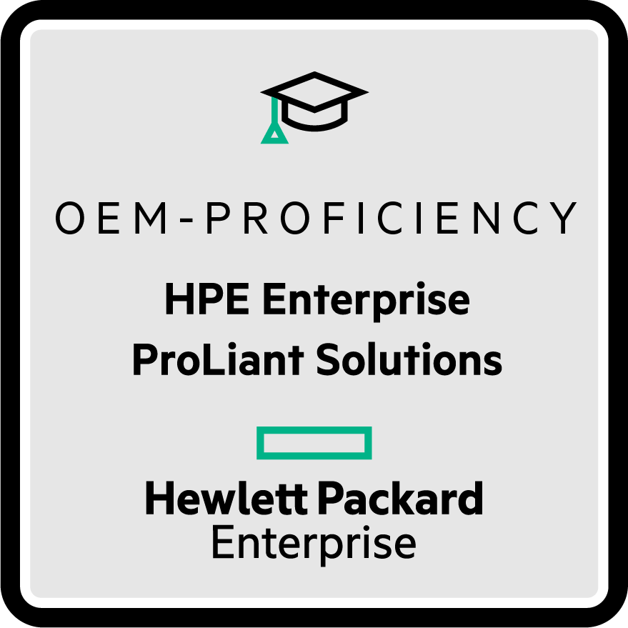HPE ProLiant Solutions - OEM Proficiency
