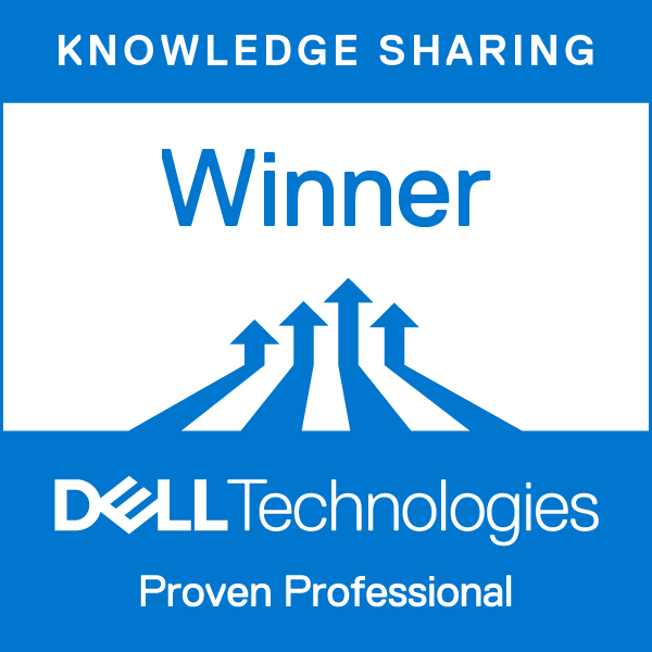 Knowledge Sharing Winner