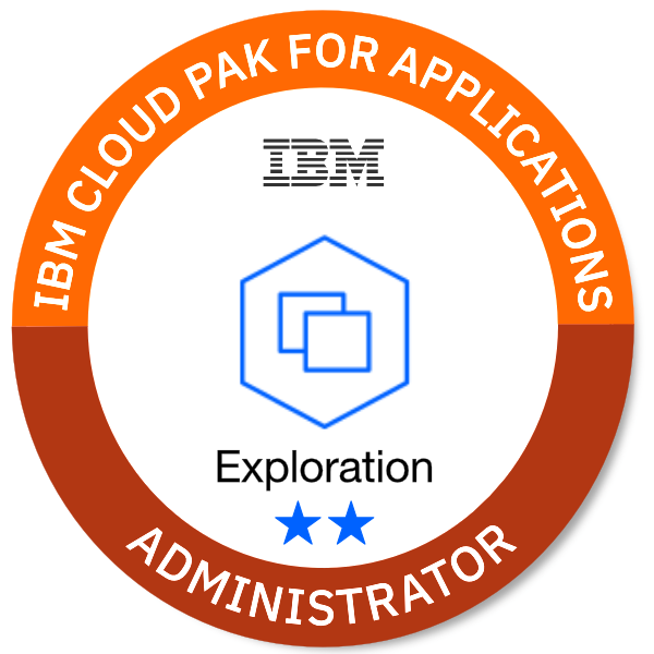 IBM Cloud Pak for Applications - Administrator (Exploration **)
