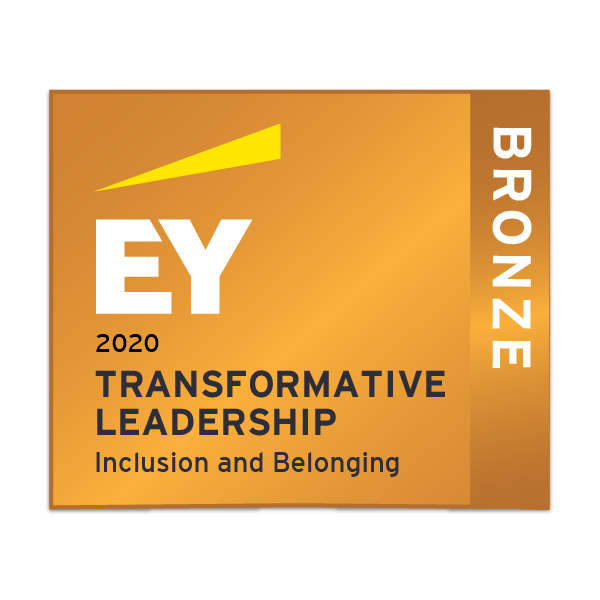 EY Transformative leadership - Inclusion and Belonging- Bronze