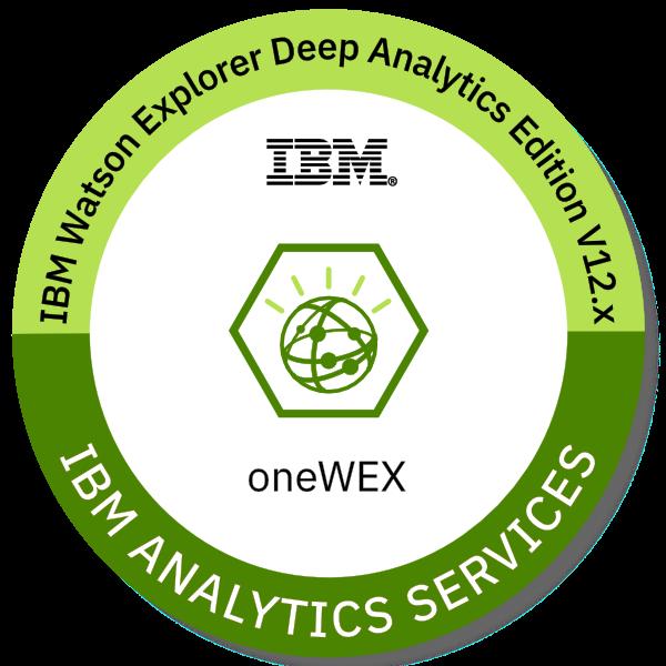 IBM Watson Explorer Deep Analytics Edition oneWEX V12.x