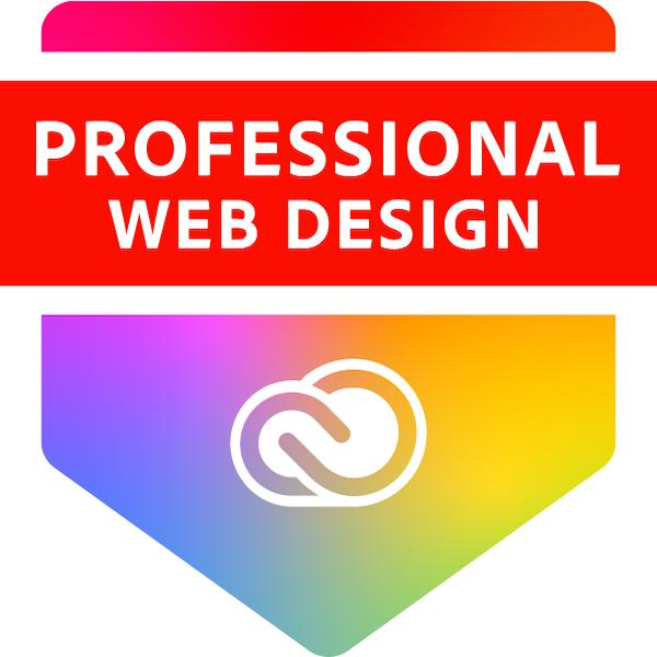 Adobe Certified Professional in Web Design