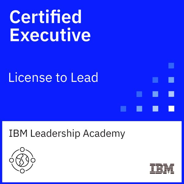 IBM Certified Executive