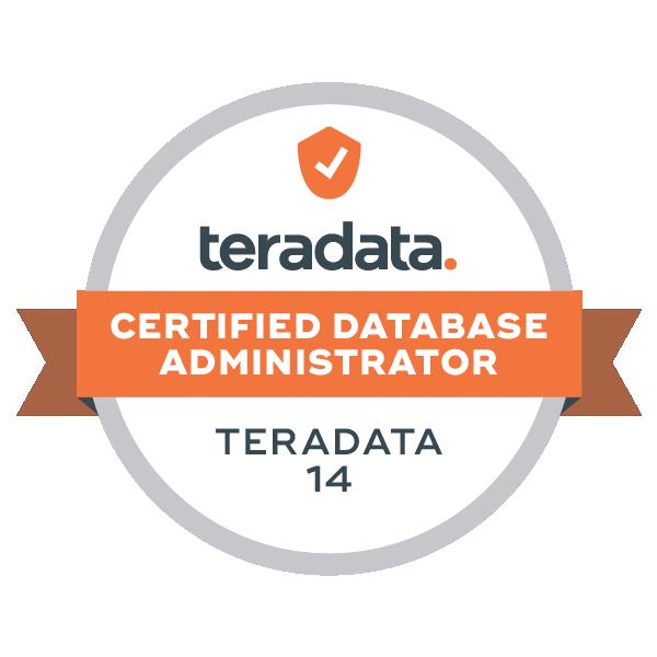 Teradata 14 Certified Database Administrator