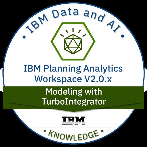 IBM Planning Analytics Workspace V2.0.x Modeling with TurboIntegrator