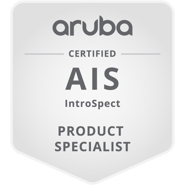 HPE Product Certified - Aruba Introspect Specialist