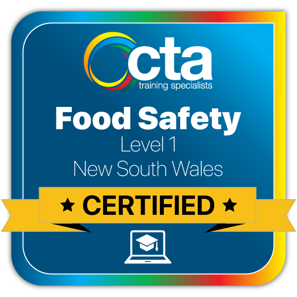 Level 1 Food Safety - NSW