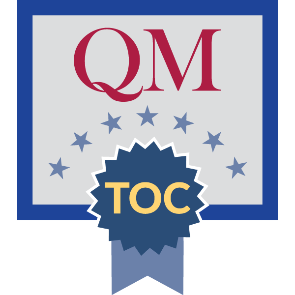 QM Teaching Online Certificate