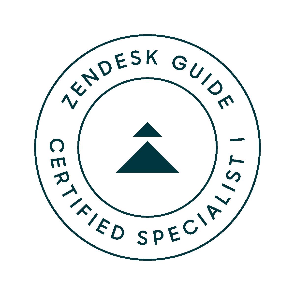 Zendesk Guide Specialist I