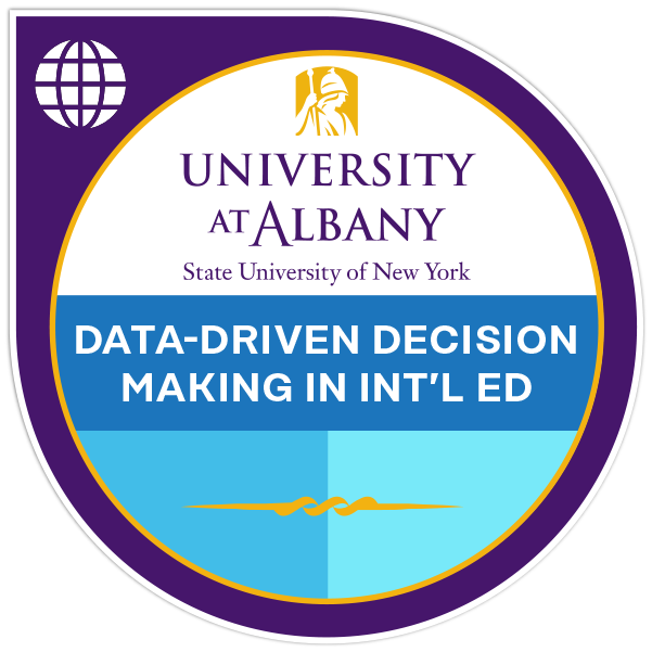 Data-Driven Decision Making in International Education