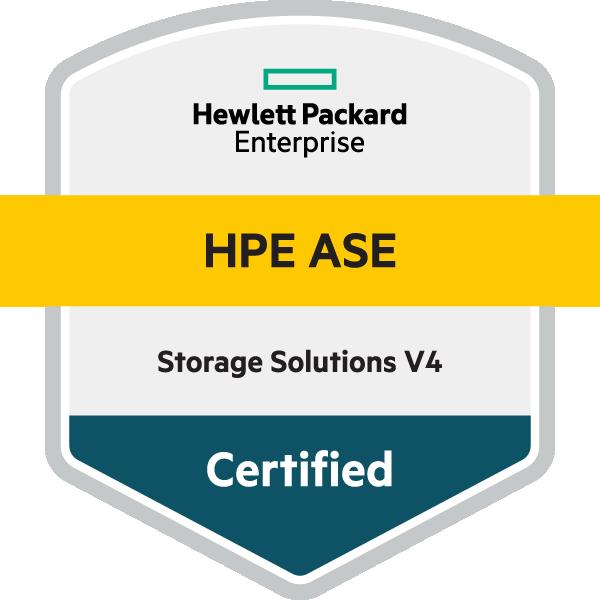 HPE ASE - Storage Solutions V4