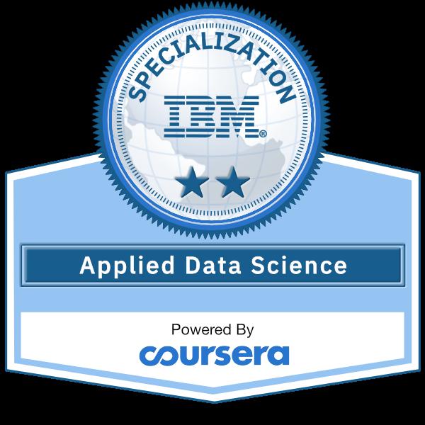 Applied Data Science Specialization (V2)