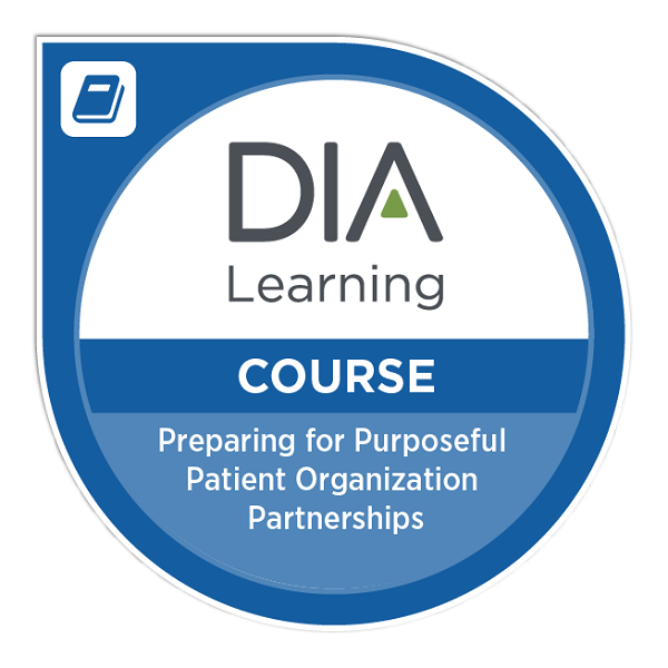 Preparing for Purposeful Patient Organization Partnerships eLearning Module