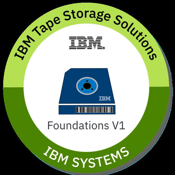 IBM Tape Storage Solutions Foundations V1