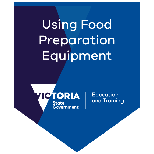 Introduction to using food preparation equipment