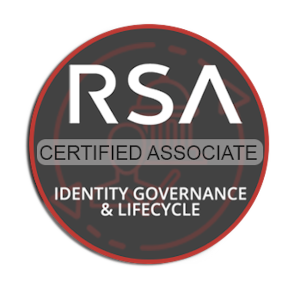 RSA Identity Governance and Lifecycle Certified Associate