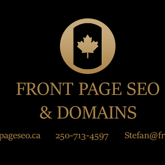 Front Page SEO