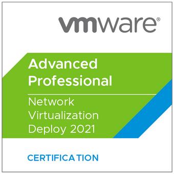 VMware Certified Advanced Professional - Network Virtualization Deploy 2021)