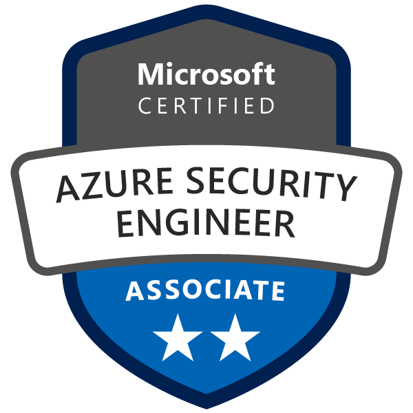 Microsoft Certified: Azure Security Engineer Associate - Credly