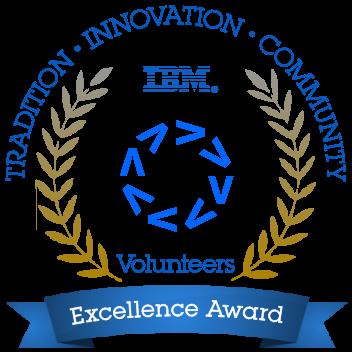 IBM Volunteer Excellence Award