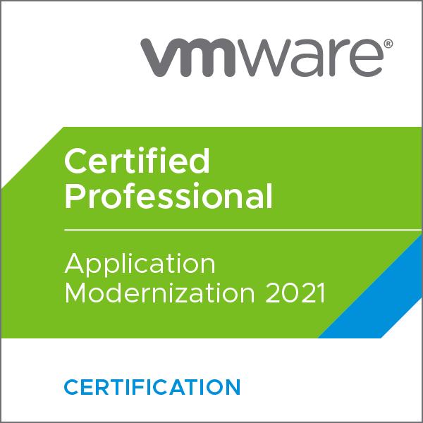 VMware Certified Professional - Application Modernization 2021